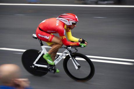 Dviratininkas G. Bagdonas lenktynėse Prancūzijoje – 26-as