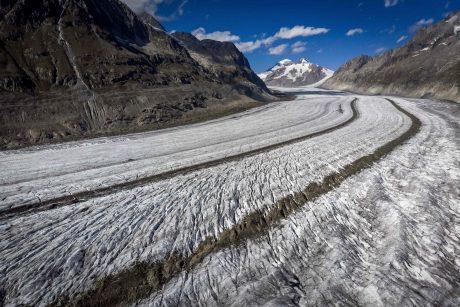 Verta susimąstyti: Šveicarijos ledynai taip greitai dar netirpo
