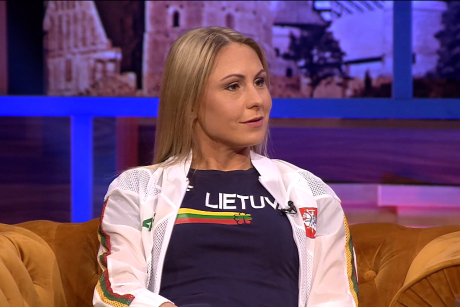 L. Asadauskaitė-Zadneprovskienė: mano vaikas jau yra ant pjedestalo buvęs