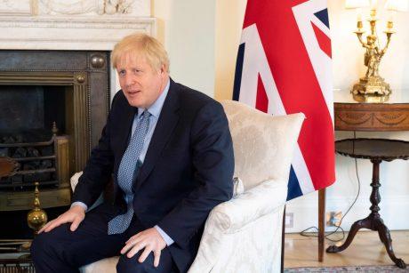 """B. Johnsonas: susitarimas dėl """"Brexit"""" – pasiektas (pildoma)"""