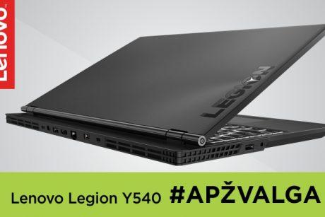 """Niekada nenuviliantis legionas: """"Lenovo Legion Y540"""" apžvalga"""