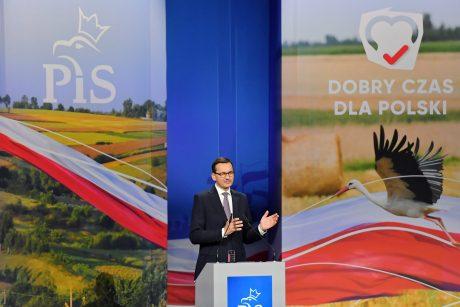Lenkijos premjeru išliks M. Morawieckis