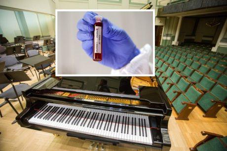 Koronaviruso protrūkiai Kauno filharmonijoje ir LNOBT gali būti susiję