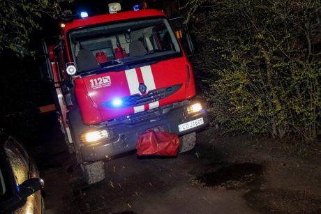 Vėlų vakarą – gaisras Tauragės rajone: užsiliepsnojo sąvartynas