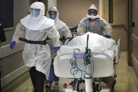 PSO nepraranda vilties įveikti pandemiją, nors aukų skaičius artėja prie 750 tūkst.