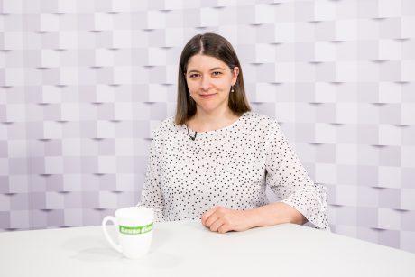 """""""Kauno dienos"""" studijoje – finansų ministrė G. Skaistė: Lietuva gyvena gerai"""