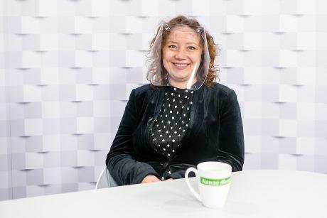 """""""Kauno dienos"""" studijoje – projekto """"Kaunas Europos kultūros sostinė 2022"""" sumanytoja V. Vitkienė"""
