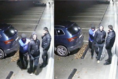 Policija aiškinasi, kas Kaune apgadino svetimą BMW