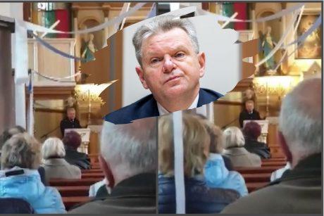 J. Narkevičius agitavo iš sakyklos bažnyčioje: yra tam tikra liberalizmo grėsmė