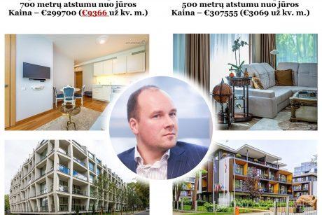 Būsto kainos šovė į neregėtas aukštumas: Palangoje trigubai brangiau nei Jūrmaloje, Rygoje ar Taline