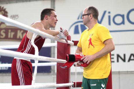 Jėgas išmėgins Kauno ringe