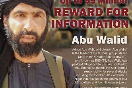 """Nukautas džihadistų """"Didžiosios Sacharos islamo valstybės"""" vadeiva"""