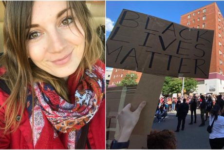 JAV gyvenanti lietuvė: buvo baisiausia, kai policininkas nuspyrė taikią merginą