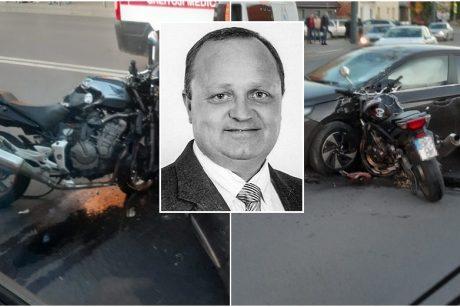 Kraupi avarija Šančiuose nusinešė žinomo Kauno verslininko gyvybę