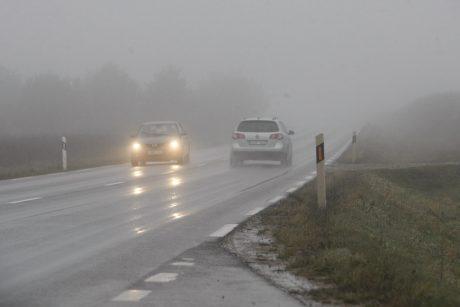 Aktualu rudenį: kaip su automobiliu nepradingti rūke?