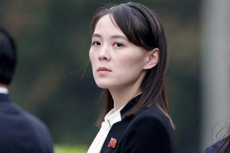 Š. Korėjos lyderio sesuo priekaištauja P. Korėjos prezidentui dėl raketų bandymo