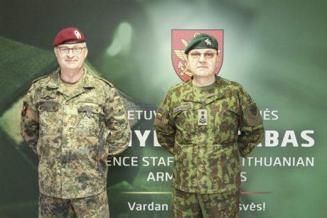 Vokietijos kariuomenės vadas: Rusija yra grėsmė taikai Europoje