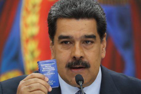 N. Maduro sveikina Norvegijos pastangas kurti dialogą tarp Venesuelos krizės šalių