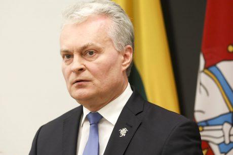 G. Nausėda: atėjo metas visu rimtumu kalbėti apie sankcijas Baltarusijai