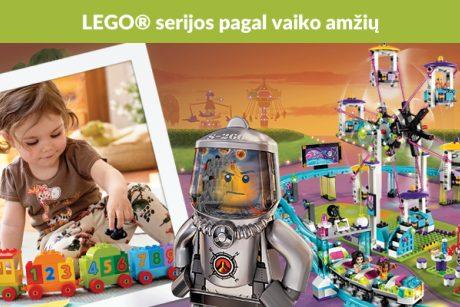Kam skambina Lego varpai?