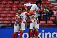 Škotus įveikę Kroatijos futbolininkai – aštuntfinalyje