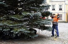 """""""Keliaujančios Kalėdos Klaipėdoje"""": mieste sužibs Kalėdų eglutė <span style=color:red;>(tiesiogiai nuo 17 val.)</span>"""