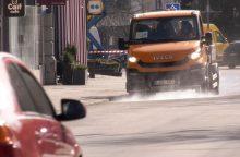 Kaunas sprendžia: dezinfekuoti gatves ar pradėti nuo parkų <span style=color:red;>(žinia dėl laiptinių)</span>