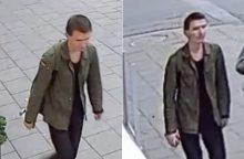 Policija ieško sienų tepliotojo <span style=color:red;>(gal atpažinsite šį vyrą?)</span>