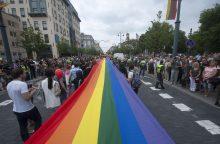 Vilniuje rengiamos LGBT eitynės už lygybę <span style=color:red;>(atnaujinta)</span>
