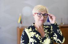 Švietimo ministrė apie santykius su Prezidentūra ir pasiruošimą Rugsėjo 1-ajai <span style=color:red;>(interviu)</span>