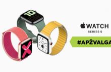 """""""Apple Watch Series 5"""" – vis dar geriausias išmanusis laikrodis? <span style=color:red;>(apžvalga)</span>"""