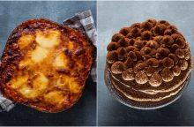 Itališkai vakarienei – baklažanai su parmezanu ir tiramisu desertas <span style=color:red;>(receptai)</span>