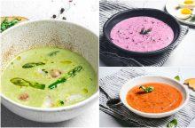 Ypatingo skonio šaltos sriubos – atsigaivinti nuo karščių <span style=color:red;>(receptai)</span>
