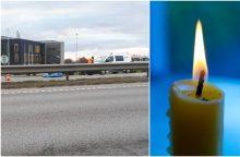 Paryčių tragedija: partrenktą vyrą pervažiavo iš paskos važiavusi mašina <span style=color:red;>(atnaujinta)</span>