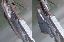 Aleksote apvogtas krovininis automobilis <span style=color:red;>(policija ieško šio asmens)</span>