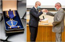 A. Veryga įteikė medalius Kauno regiono medikams <span style=color:red;>(apdovanotųjų sąrašas)</span>