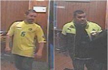 Šilainiuose įvykdyta vagystė: policijos akiratyje – šie du vyrai <span style=color:red;>(gal atpažįstate?)</span>
