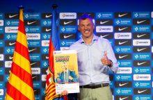 """""""Barcelonoje"""" pristatytas Š. Jasikevičius: palikau elitinę komandą <span style=color:red;>(vaizdo įrašai)</span>"""