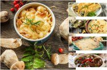 Virtuvėje – rudeniškos vaišės iš miško <span style=color:red;>(receptai patiks ir išrankiausiam gurmanui)</span>
