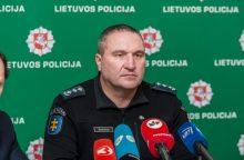 Oficialu: D. Žukauskas atleistas iš tarnybos policijoje <span style=color:red;>(sprendimą skųs teismui)</span>