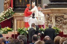 Kaune – kardinolo S. Tamkevičiaus Padėkos Mišios <span style=color:red;>(stebėkite tiesiogiai)</span>